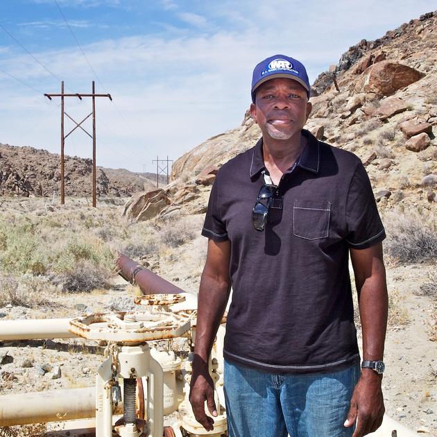 Henry Jones at Water Throttling Valves - Poison Canyon, CA - 2015