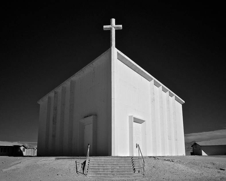 St. Madeleine Catholic Church - Trona, CA - 2010