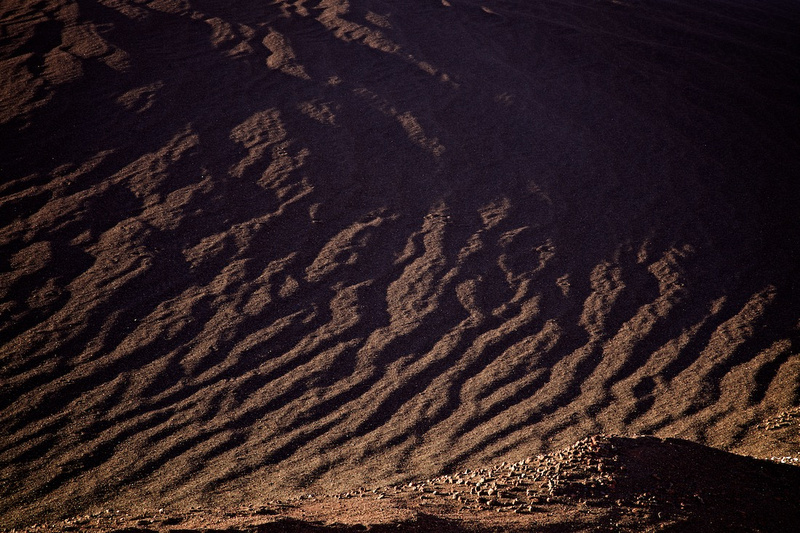 Cinder Product Abstraction - Red Hill Quarry - Fossil Falls, CA - 2015