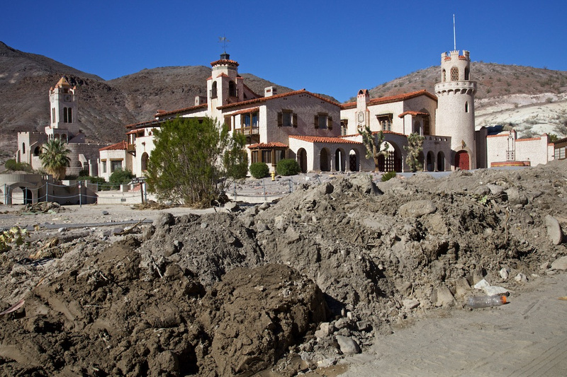 Scotty's Castle and After Thousand Year Flood - Death Valley, CA - 2015