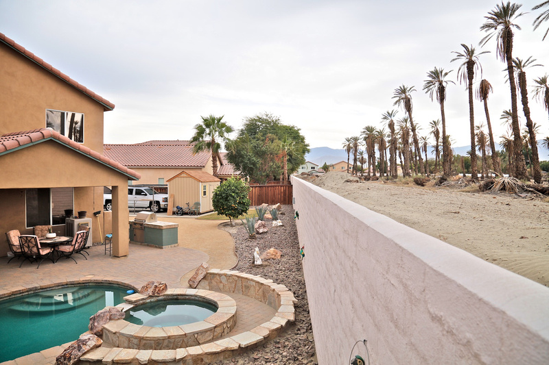Newly Constructed Homes Alongside Palm Grove - Indio, CA - 2015
