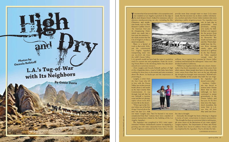 Whole Life Times - High and Dry: L.A.'s Tug of War with its Neighbors - April/May 2016