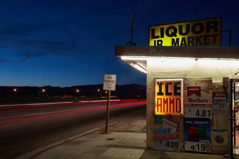 ICE/AMMO –  Night No.1 – Mojave, CA – 2016