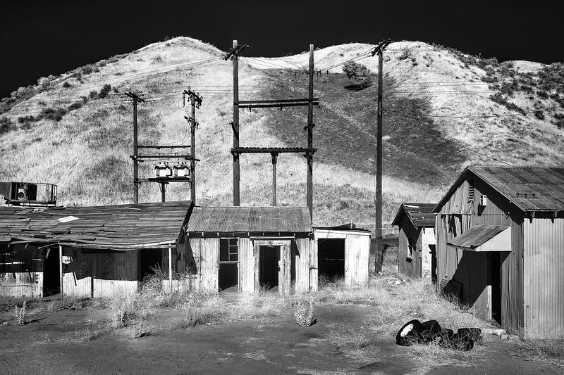 Abandoned Buildings & Tires – Whittaker-Bermite Site – Santa Clarita, CA – 2017