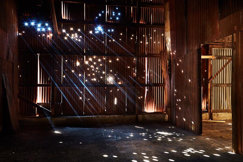 Corrugated Wall with Holes – Whittaker-Bermite Site – Santa Clarita, CA – 2017