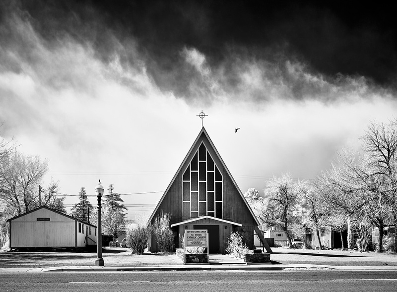 Church Raven – Independence, California – 2021