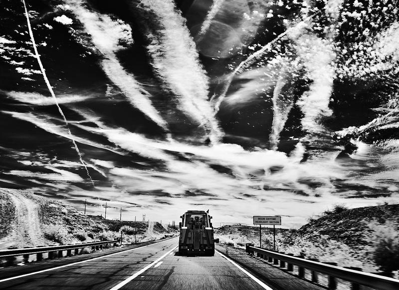 Fire in the Sky – Highway 95 Near Lake Havasu, Arizona – 2021