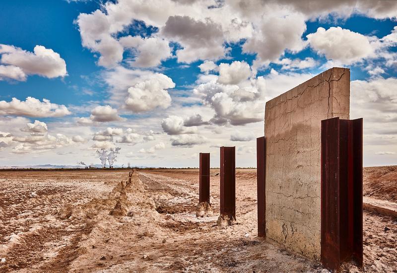 Desiccated Field - Calipatria, California - 2021