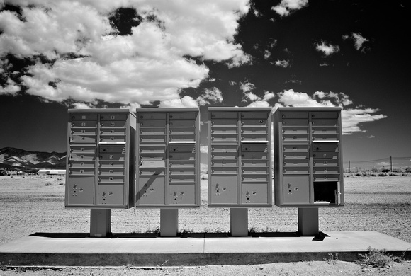 Mailboxes - Mojave, CA - 2010