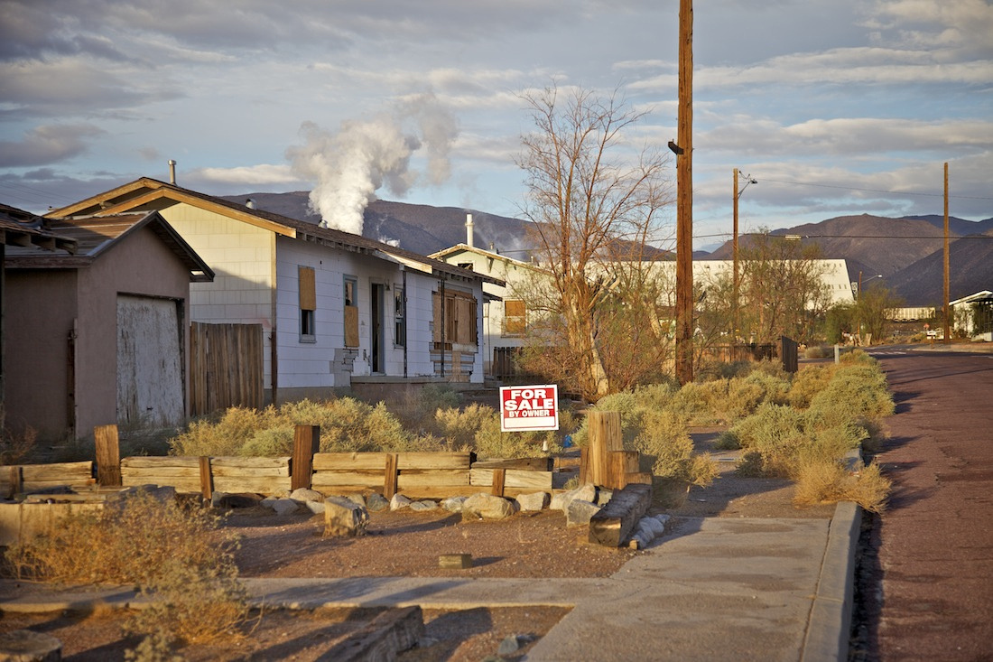 For Sale by Owner - Residential Street by Mineral Plant - Trona, CA - 2012