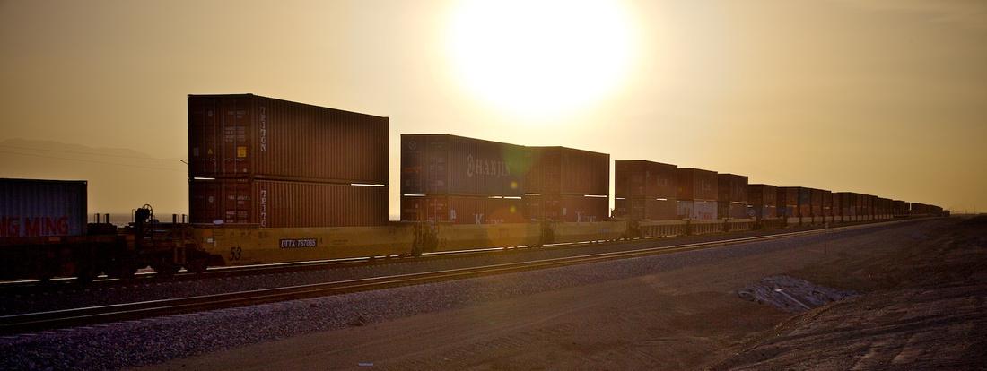 Freight Train - Salton Sea, CA - 2014