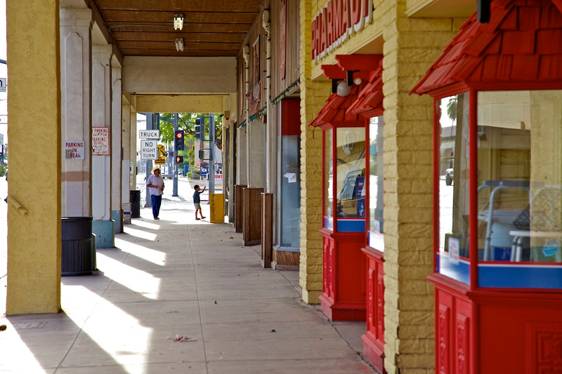 Main Street Arcade - Brawley, CA - 2014