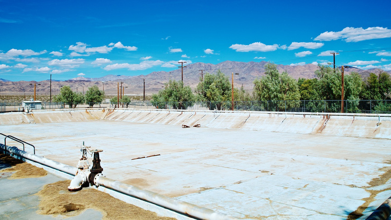 Valley Wells Reservoir (Formerly Valley Wells Pool) - Trona, CA - 2015