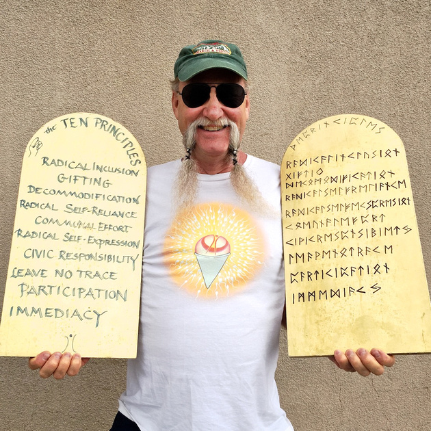 Jon Peterson - The Ten Principles of Burning Man - Bishop, CA - 2015