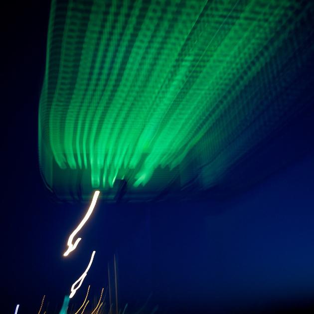 Green Streaks - California City Blvd - CA Highway 14 - 2011