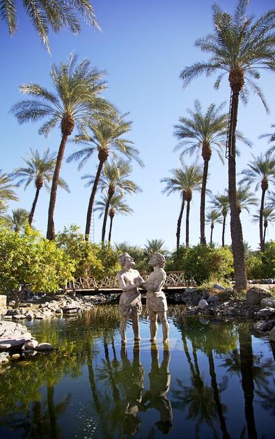 """""""The Baptism of Jesus"""" - Shields Date Garden - Indio, CA - 2016"""