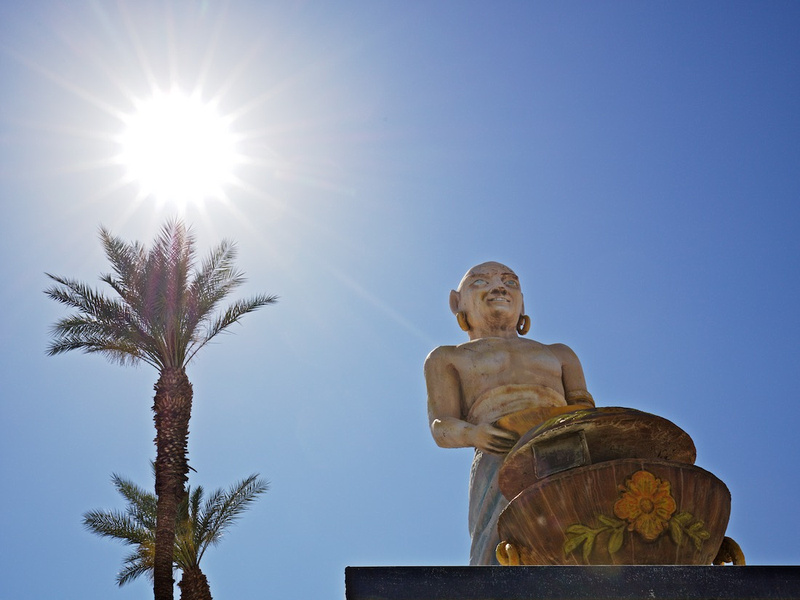 Statue & Sunstar - Riverside County Fairgrounds - Indio, CA - 2016