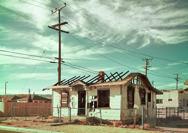 Charred House on Trinity Street – Mojave, CA – 2016