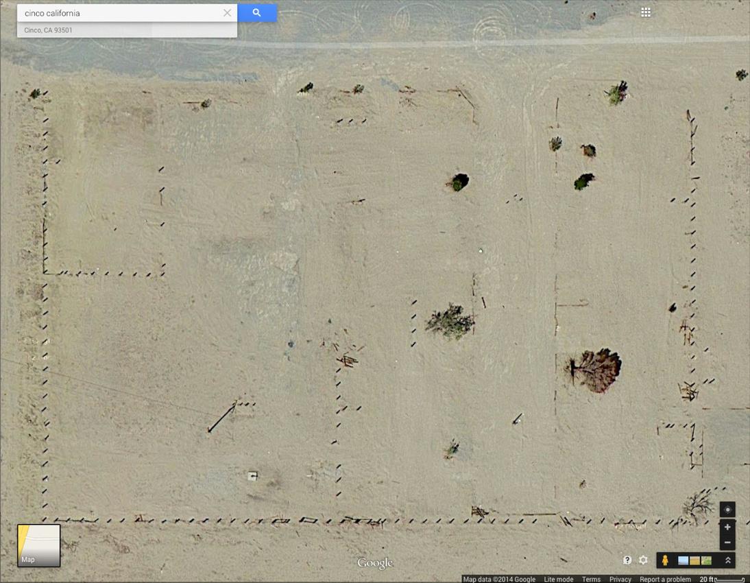 Google Earth - Cinco, CA - Overview 3