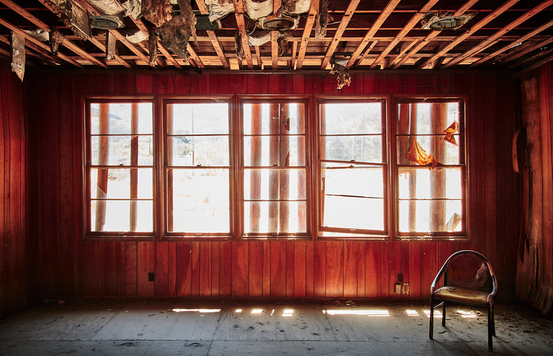 Room with Chair – Administration Building – Whittaker-Bermite Site – Santa Clarita, CA – 2017