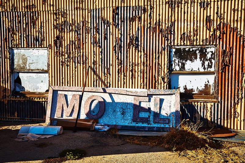 Wall with Motel Sign – Whittaker-Bermite Site – Santa Clarita, CA – 2017