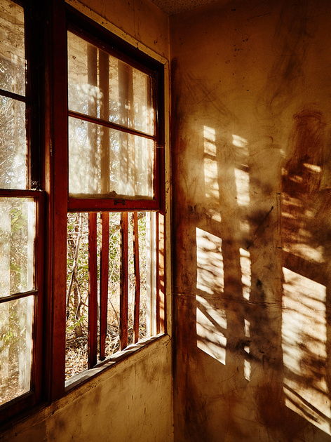 Window with Shadow – Administration Building – Whittaker-Bermite Site – Santa Clarita, CA – 2017
