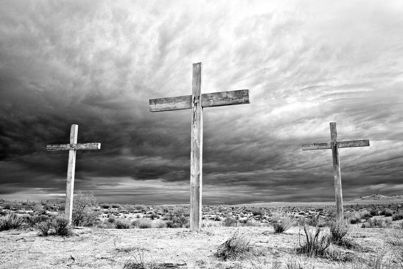 Three Crosses - Mojave, CA - 2013