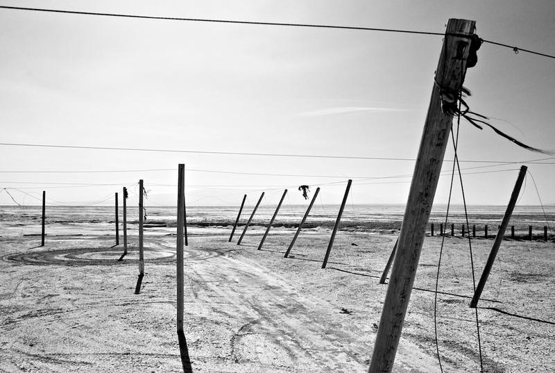 Poles and Dirt Circle No.1 - Salton Sea CA - 2014