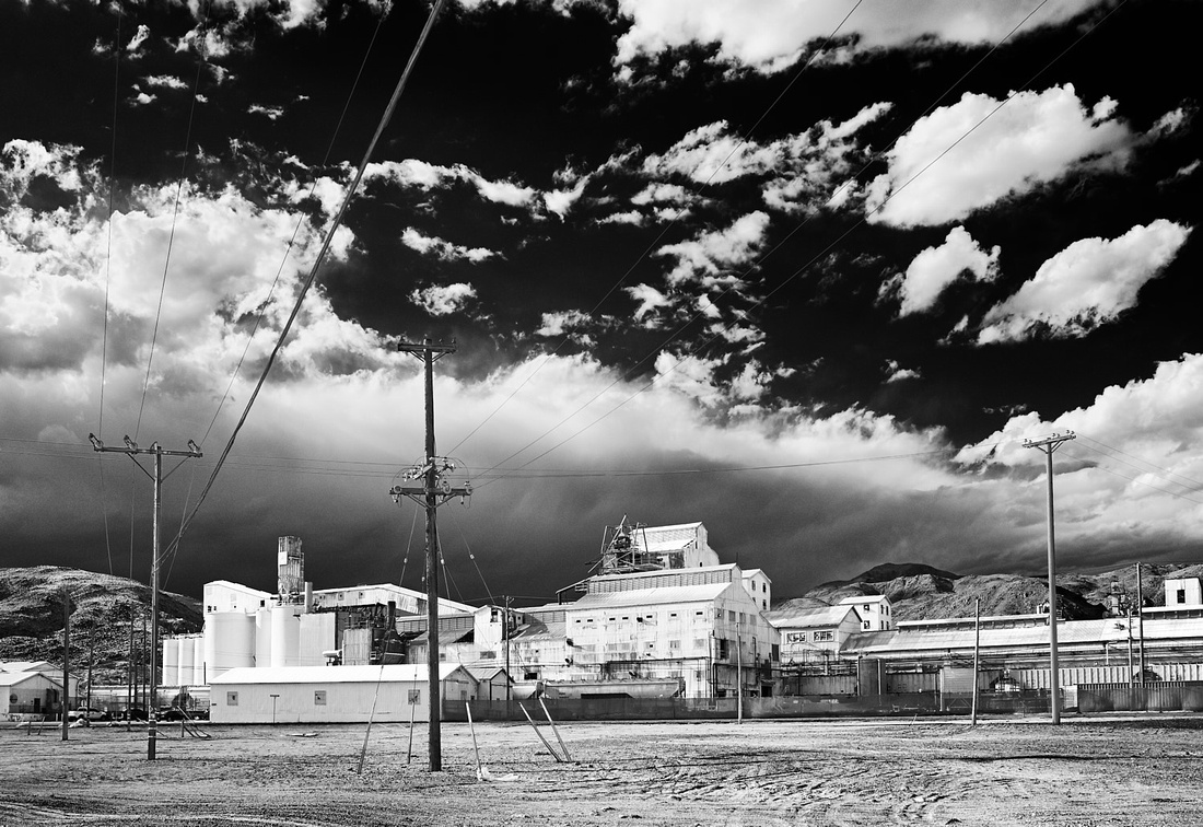 Searles Valley Minerals Plant - Infrared Exposure - Trona, CA - 2010