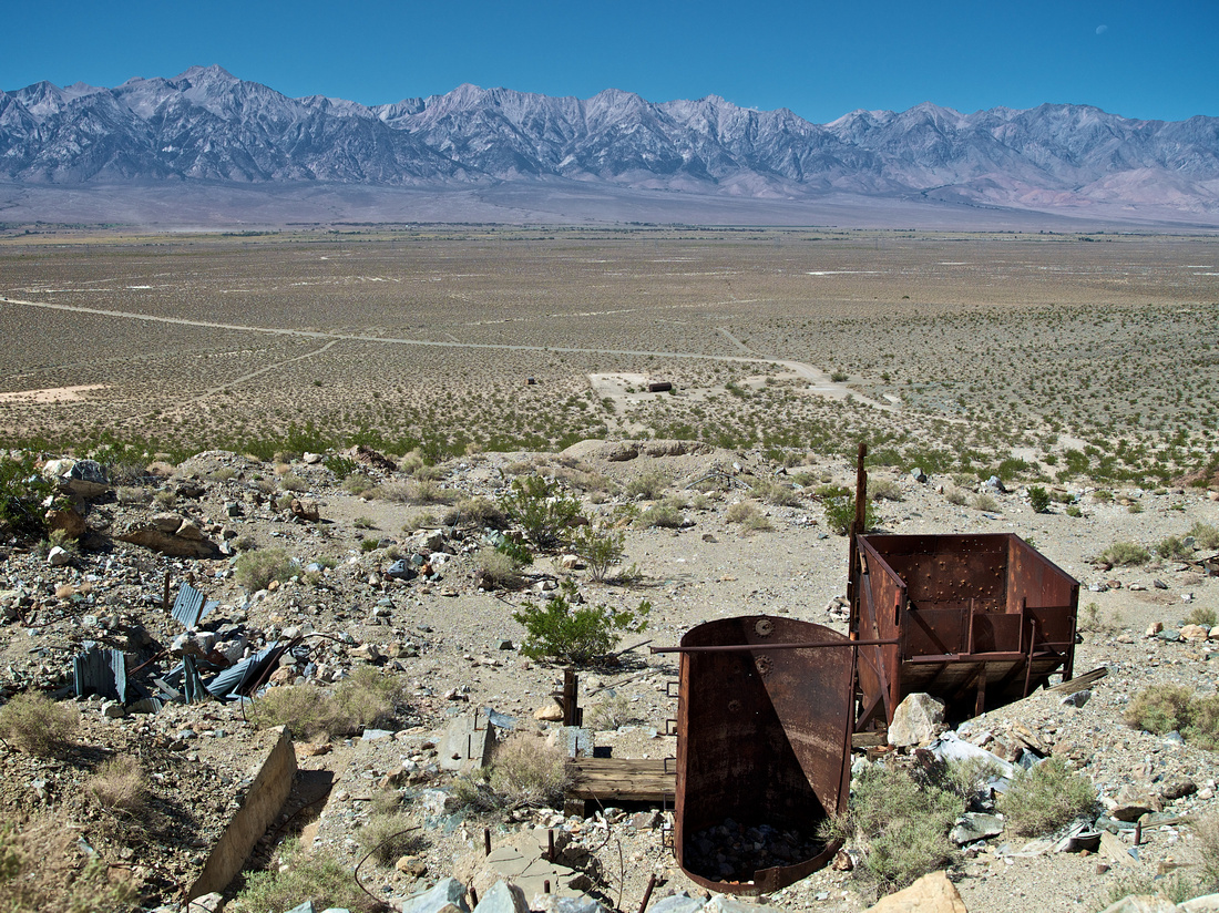 Proposed Southern Ownes Valley Solar Ranch site East of Manzanar, CA - 9/25/13