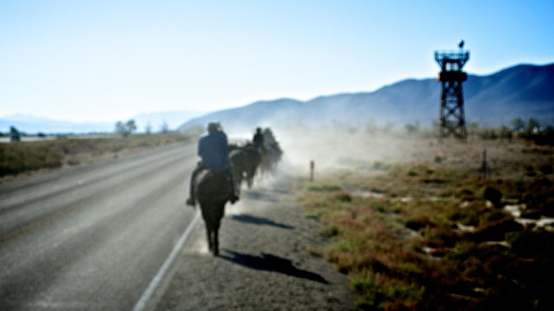 Passing Manzanar National Historic Site - 2013