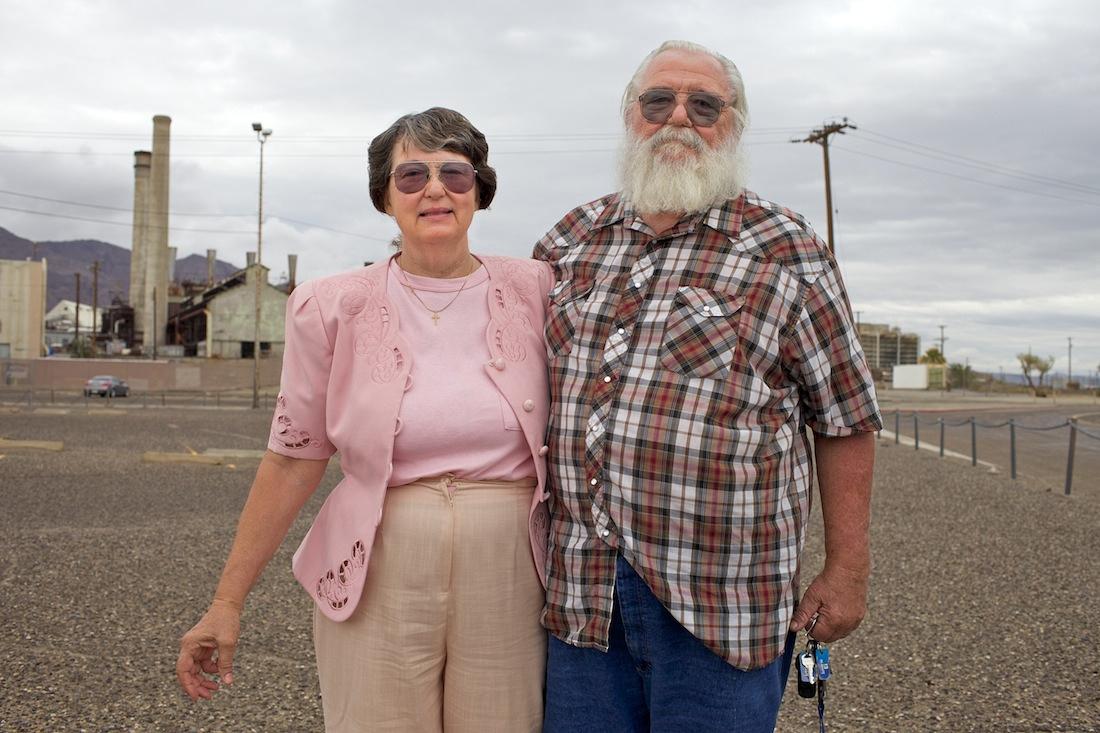 Janice & Gary Cartwell - Trona, CA - 2014