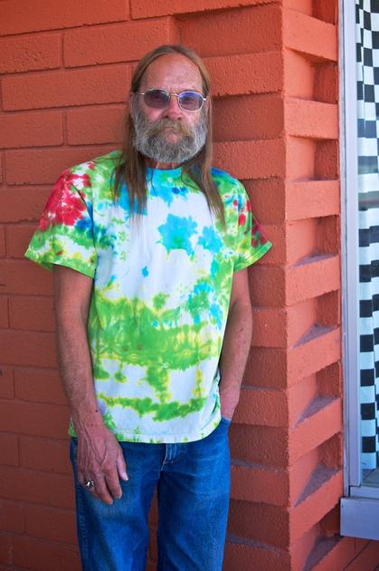 Jeff Newman - Esparza Family Restaurant - Trona, CA - 2015