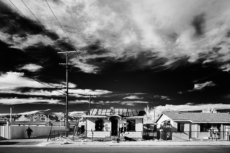 Charred House on Trinity Street No.1 – Mojave, CA – 2016