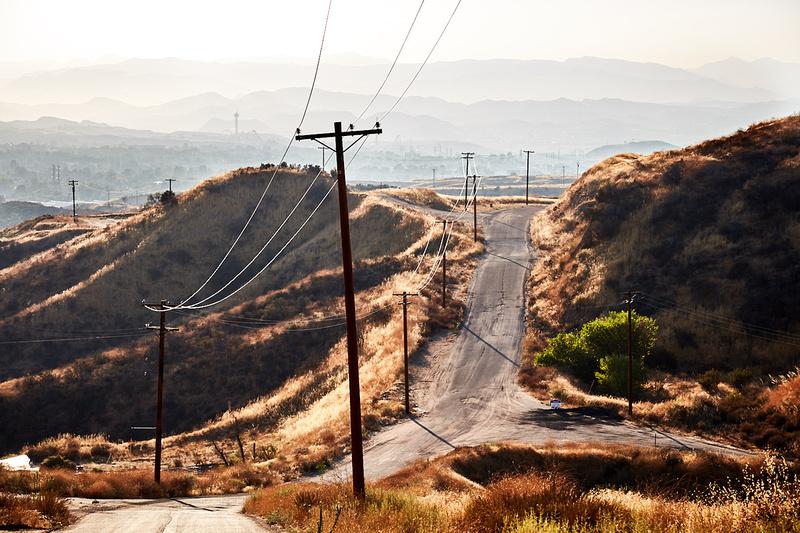 Hilltop View Facing Northwest – Whittaker-Bermite Site – Santa Clarita, CA – 2017